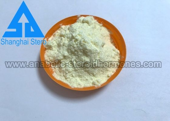 China Legal Anabolic Steroids Trenbolone Acetate Light Yellow Powder CAS 10161-34-9 supplier