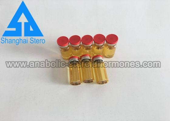 China Oil Based InjectionsSteroids Trenbolone Enanthate Finished Yellow Oils Vial supplier