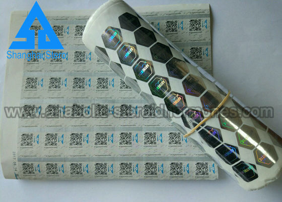 China Steroid Vial Labels / Customized Factory Labels For Vials BP / SGS Certification distributor