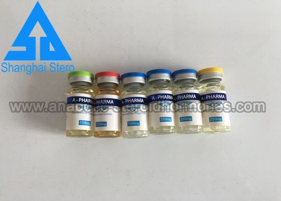 China 10Ml Vial Labels Steroid Finished Oils Glossy Common Color print distributor